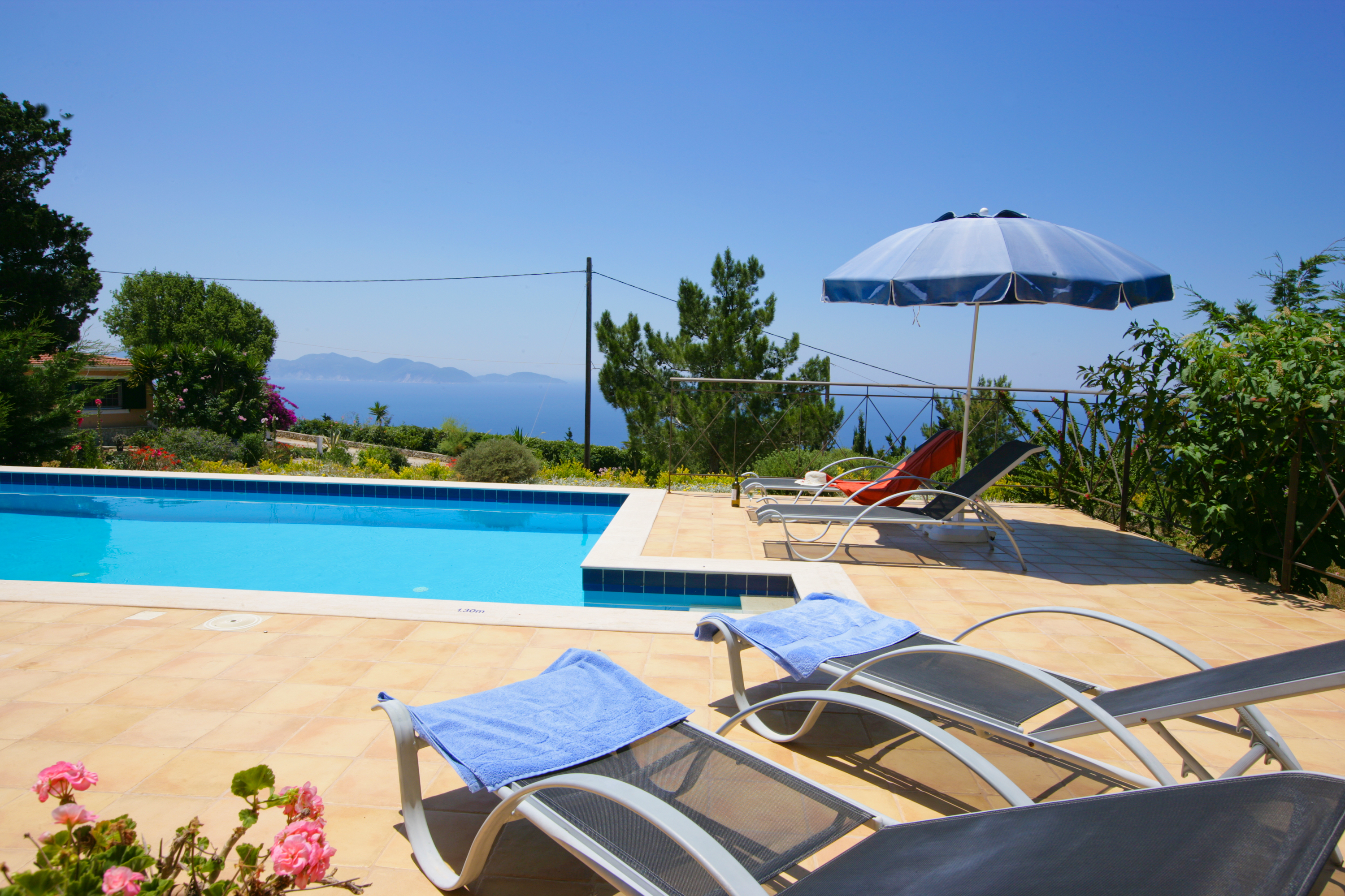 Villa Bernice swimming pool