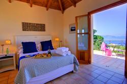 Villa Bernice main bedroom