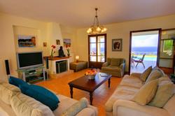 Fiskardo House lounge