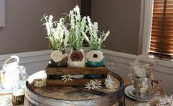 Painted Mason Jar Tabletop