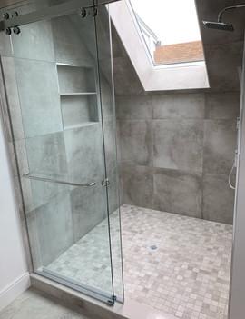 Anatolia Ceraforge Chromium Walls and Shower Floor