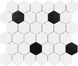 51-076_2in_Soho_White_wBlack_Matte_Hexag