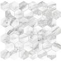 0_2_La_Marca_-Arabescato_Hexagon_Mosaics
