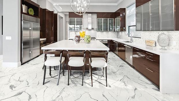 Rectified, Glazed Porcelain Tile