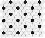 51-071_1in_Soho_White_wBlack_Matte_Hexag