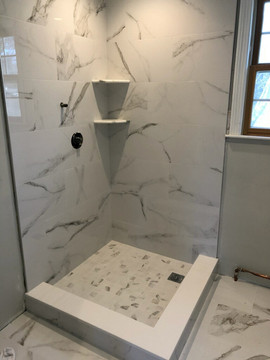 Anatolia Mayfair Statuario Walls and Shower Floor