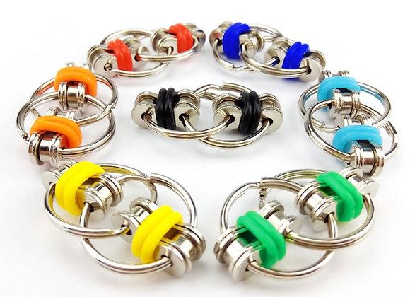 Flippy Bike Chain/ Fidget Toy/ Anxiety/ Stress Relief/ School fidget/ descrete
