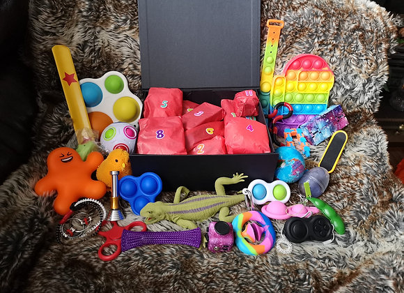 Fidget Christmas Advent Calendar, fidget toys,surprise, Christmas Gifts, sensory