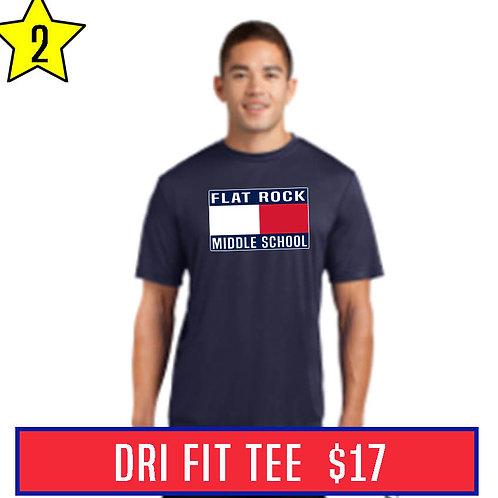Blue Men's Dri Fit Tee