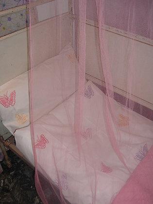 Bettwäsche gest. Schmetterlinge für Kleinkinder