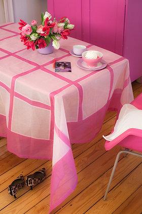 Quadrattischdecke Rosa Pink