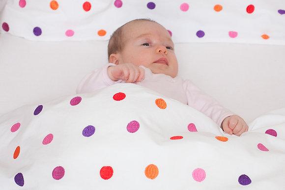 Punktebettwäsche für Jungs und Mädchen
