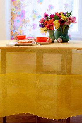 Putlitischdecke Gelb
