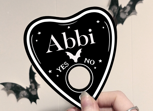 Personalised Wooden Planchette