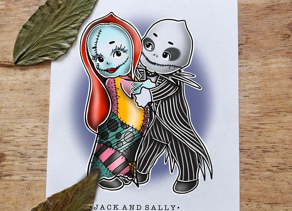 A5 Kewpie Jack and Sally