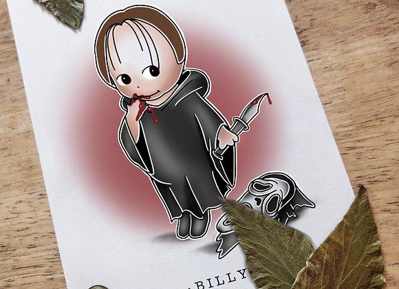 A5 Kewpie Ghostface (Billy from Scream)