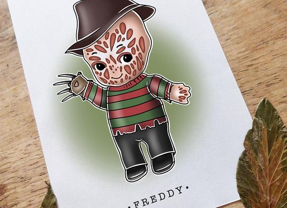 A5 Kewpie Freddy Kreuger