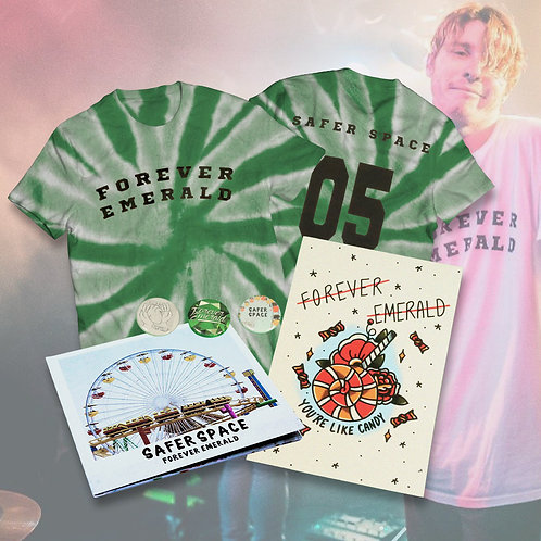 Safer Space Tee + CD + Print Bundle