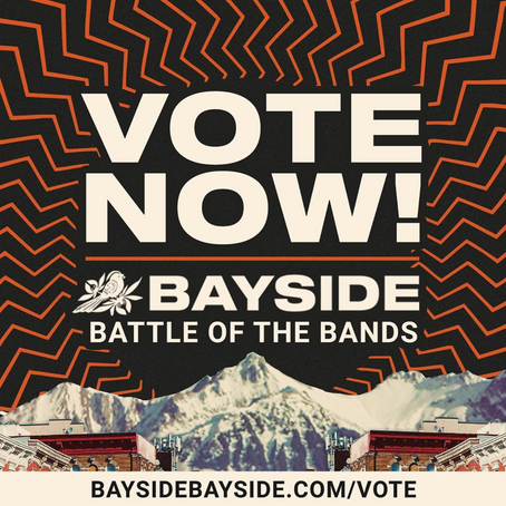 Vote for us daily to open up for Bayside in LA! https://www.baysidebayside.com/lo