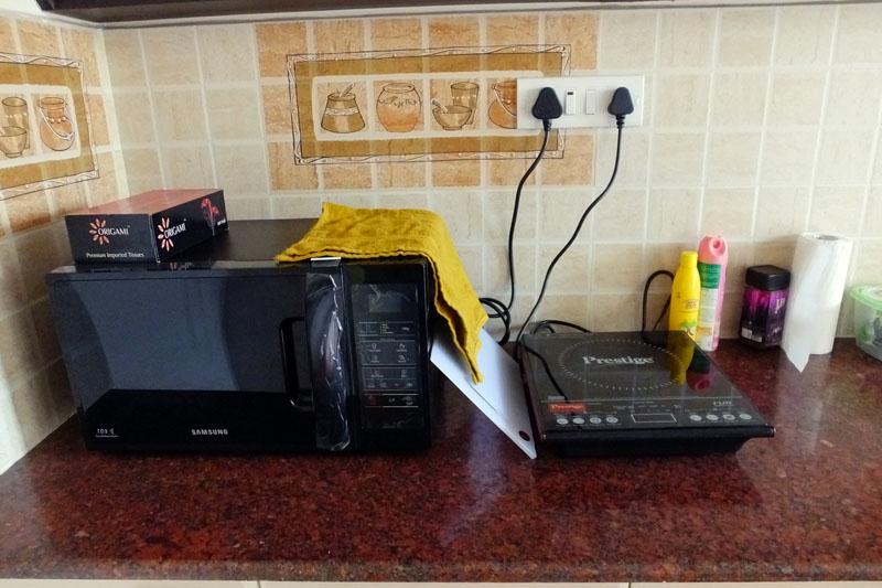 Microwave-Hotplate