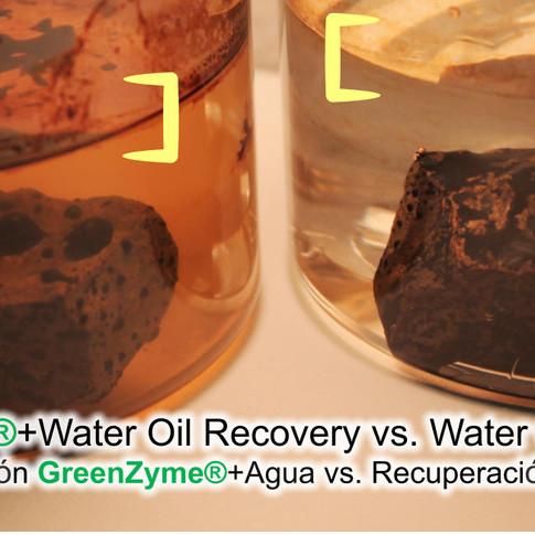 GreenZyme wettability effect