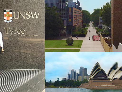 GreenZyme visit to University of New South Wales