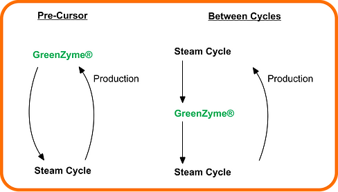 greenzyme water alternating gas cycle proces