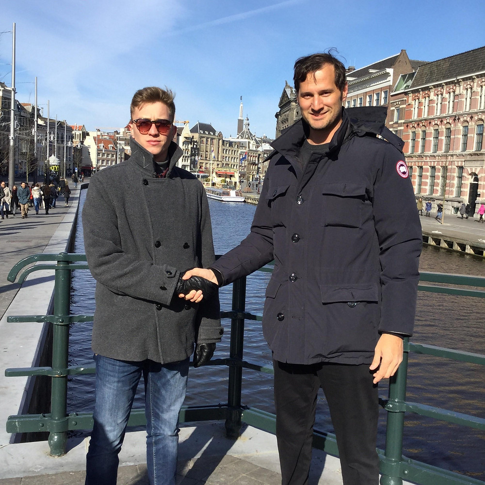 Valentinos and Lucas Meeting in Amsterdam 2018