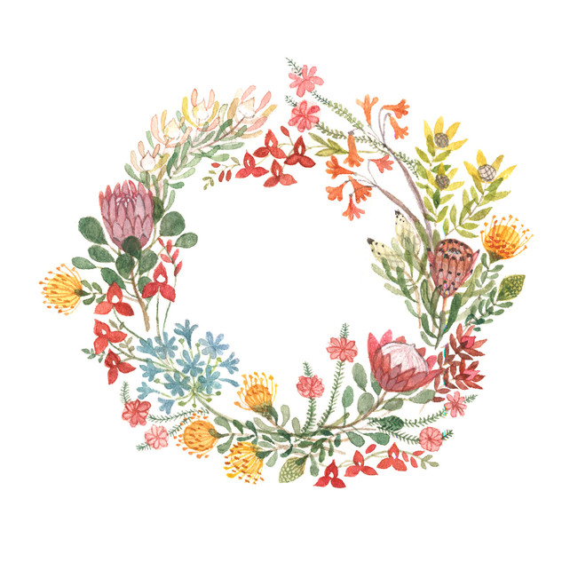 fynbos wreath