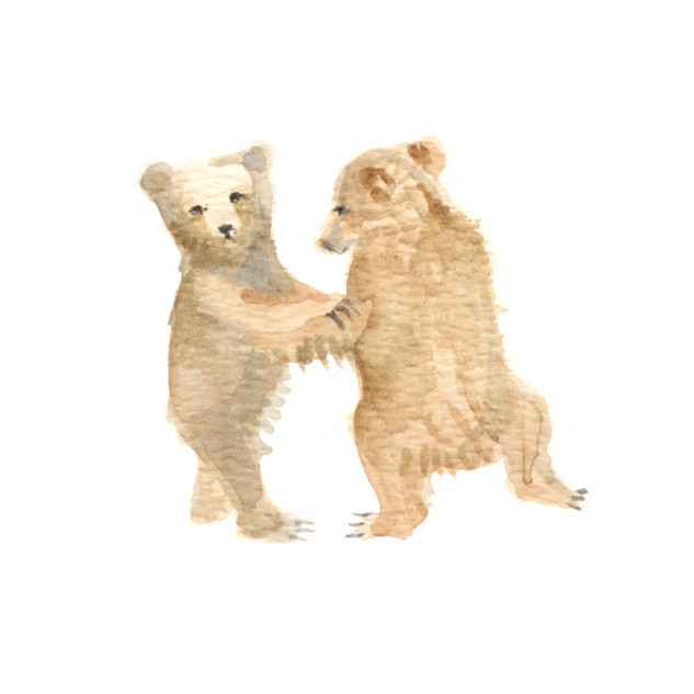 little bears dancing