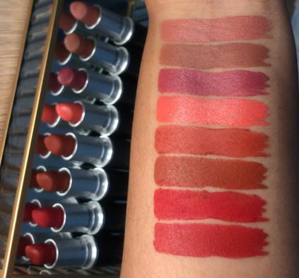 My MAC Cosmetics Lipstick Collection