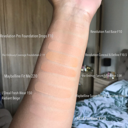 My Foundation Shades