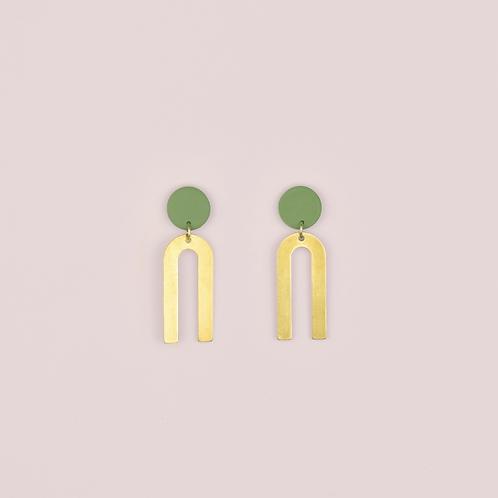 Green Brass Arc