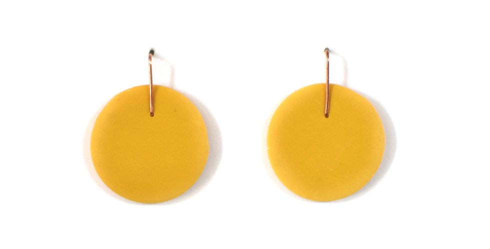 Yellow Round Drops