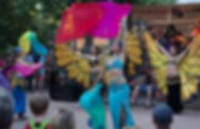 Saltanah Dancers Santa Fe Bandstand
