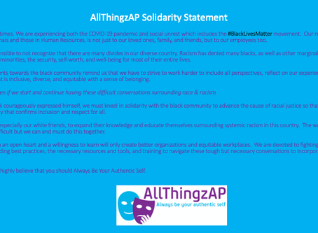 AllThingzAP Solidarity Statement