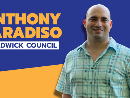 Anthony Paradiso Statement Regarding Town Council Election