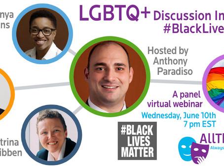 LGBTQ+ Discussion Including #BlackLivesMatter