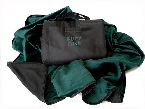 FOREST GREEN - Microfurr Waterproof Blanket