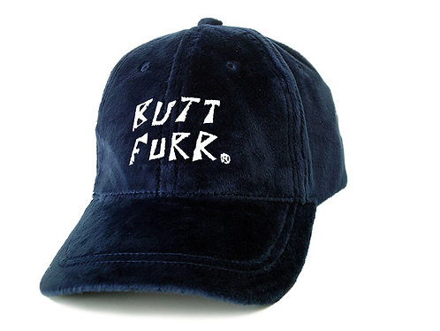 NAVY BLUE- Butt Furr Baseball Cap
