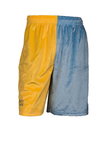 LIGHT BLUE / YELLOW | Butt Furr - The Most Comfortable Shorts on ...
