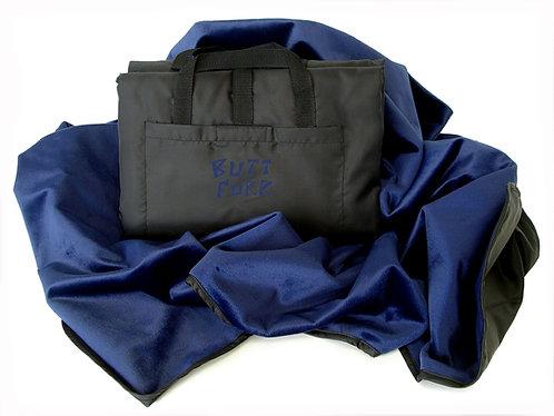 NAVY BLUE - Microfurr Waterproof Blanket