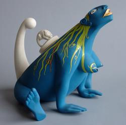 045. The games of chameleons (teapot) (2000)
