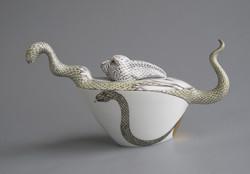 7a. Boa swallowed the rabbit. teapot