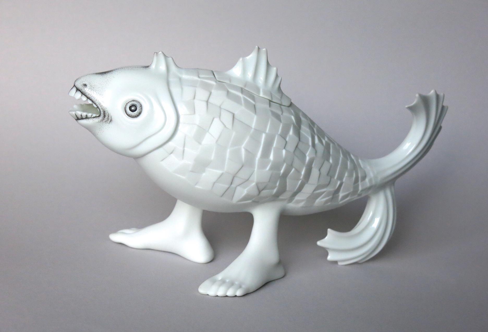 5. _Mosaic Parrot Fish_ (teapot). 2013