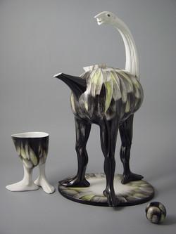 061. Ostrich (teapot) 2003