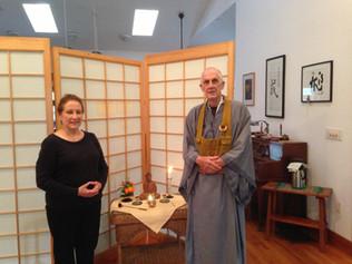 Soan & Amparo: Precepts ceremony