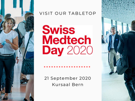 Visit the MPP Booth at Swiss Medtech Day
