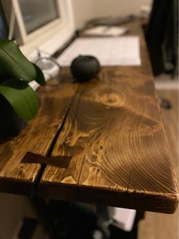 Floating L-Shaped Desk