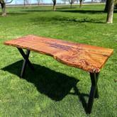 Red Oak Home Office Desk